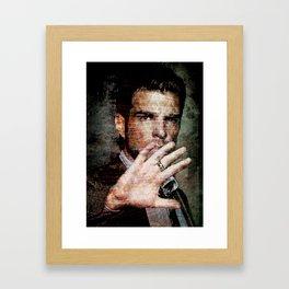 Celebrity Row - Zachary Framed Art Print
