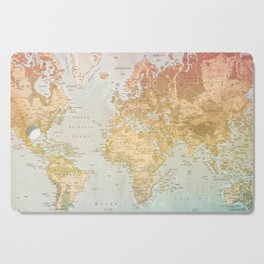 Pastel World Cutting Board