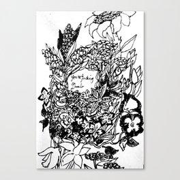 Sassy Flowers Canvas Print