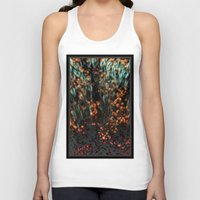 copper Tank Tops featuring Copper Aurora by DeepFlux