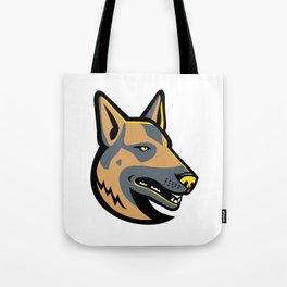 German Shepherd Dog Mascot Tote Bag