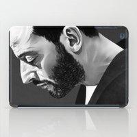 leon iPad Cases featuring Leon by Ruben Ireland