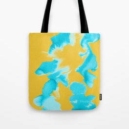 Color Blotch Tote Bag