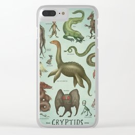 CRYPTIDS Clear iPhone Case