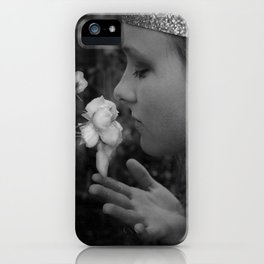 Stop to Smell the Roses iPhone Case