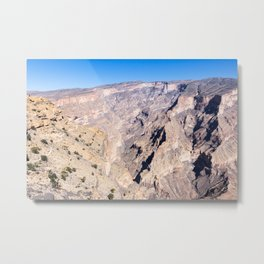 Jebel Shams - Oman Metal Print