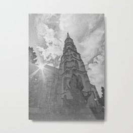 Saint Michaels Church Cluj Napoca Romania Metal Print