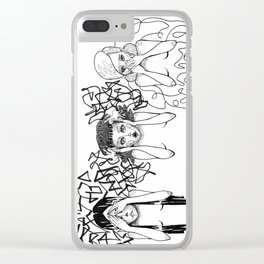 01 Clear iPhone Case