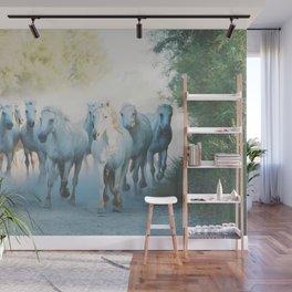 Camargue Horses ... Wall Mural