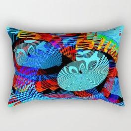 Gazing Inward Rectangular Pillow