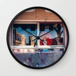 Wig Out Wall Clock