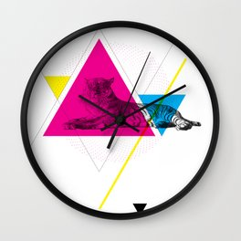 HYPSTER TYGER Wall Clock