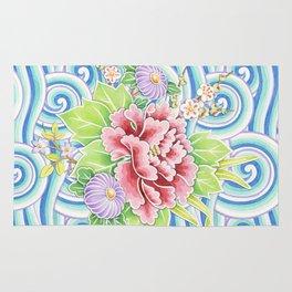 Kimono Bouquet Rug
