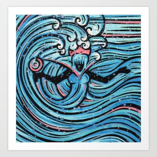 Orixás - Iemanja Art Print