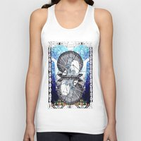 aquarius Tank Tops featuring Aquarius by Caroline Vitelli GOODIES