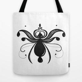 Wispy Bug Drops Tote Bag