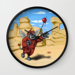 Monster of the Week: Winged Boar Demon Wall Clock