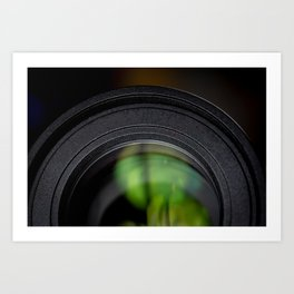 Photography Lens Macro Detail Art Print