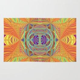 Healing Visionary Spark Mandala Rug
