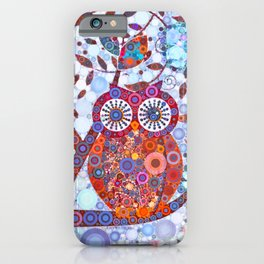 If Klimt Painted An Owl :) Owls are darling birds! iPhone Case