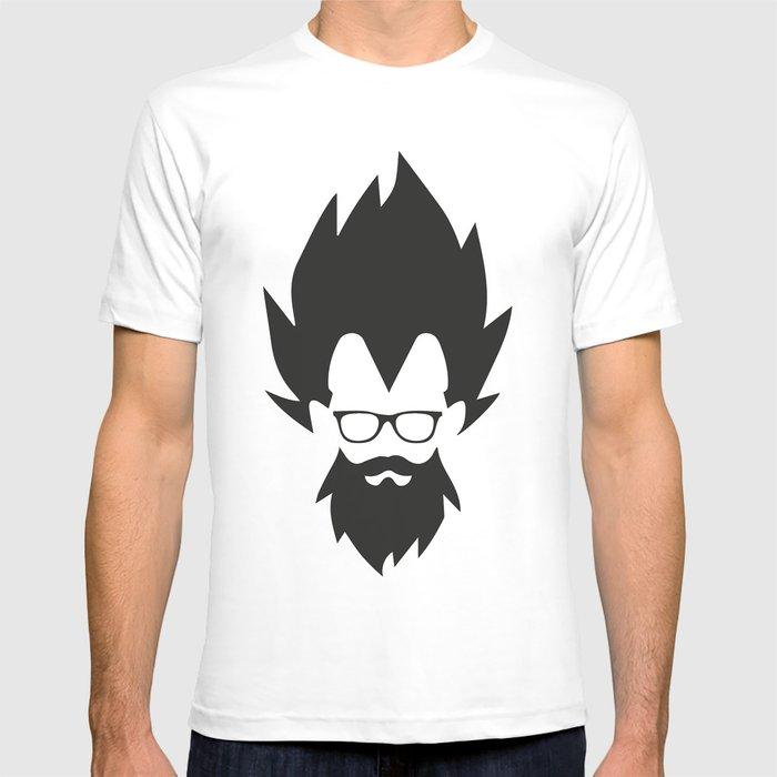 Vegeta Hippster T-shirt