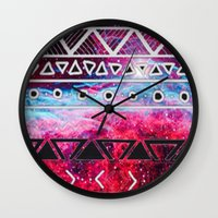 aztec Wall Clocks featuring AZTEC by UDIN