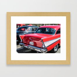 Classic Car Framed Art Print