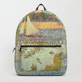"""Georges Seurat """"The Seine at La Grande Jatte"""" Backpack"""