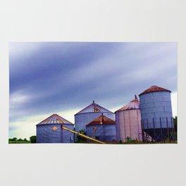 Mukwonago Grain Silos Rug