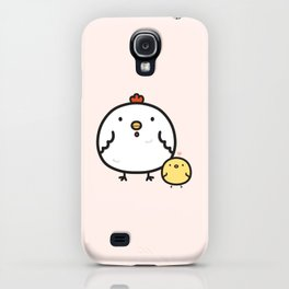 Cute chick and chicken iPhone Case