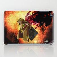 dark souls iPad Cases featuring Dark Souls 2 Emerald Herald - Shanalotte  Tribute by Axsikio