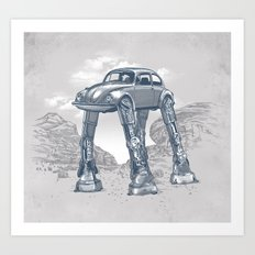 Star Warsvergnugen Art Print