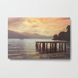 Lagoon Harmony Metal Print