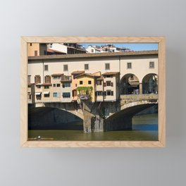 Ponte Vecchio in Florence Framed Mini Art Print