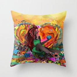 Cherish the Earth Throw Pillow