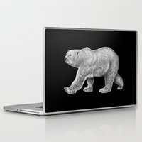 polar bear Laptop & iPad Skins featuring Polar Bear by Tim Jeffs Art