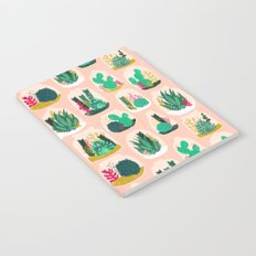 Terrariums - Cute little planters for succulents in repeat pattern by Andrea Lauren Notebook