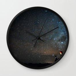 Linking Stars Wall Clock