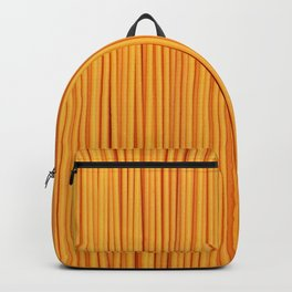 Spaghetti, pasta texture Backpack