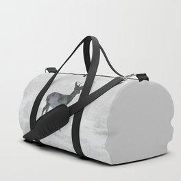 Snowing Deer Duffle Bag