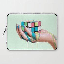 MELTING RUBIKS CUBE Laptop Sleeve
