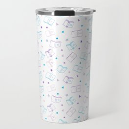 Classic Book Doodles Travel Mug