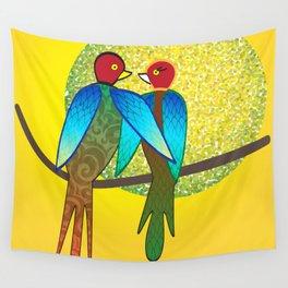 LoveBirds Wall Tapestry