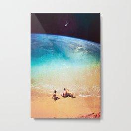 Summer's Edge Metal Print