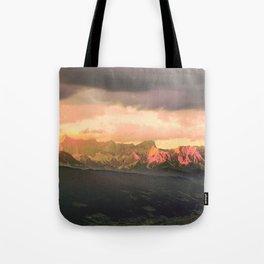 Escaping  -  Mountains - Dachstein, Austria Tote Bag