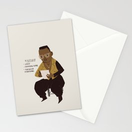 hammer to do list Stationery Cards