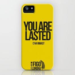 C'HA RIMAST iPhone Case