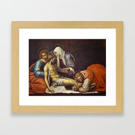 Pieta by Fra Bartolomeo Framed Art Print