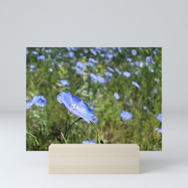 Blue 3 Mini Art Print