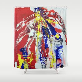 Lefty  Shower Curtain